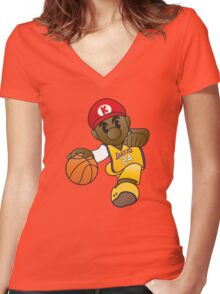 Mario Kobe Women's Fitted V-Neck T-Shirt