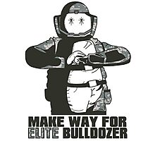 Elite Bulldozer Photographic Print