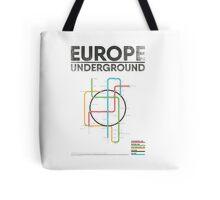 EUROPE UNDERGROUND Tote Bag