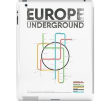 EUROPE UNDERGROUND iPad Case/Skin