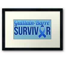 Guillain-Barre Syndrome Awareness GBS Awareness Framed Print