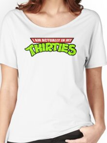 Teenage Mutant Ninja Thirties Women's Relaxed Fit T-Shirt