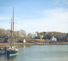Wychmere Harbor, Cape Cod by Elizabeth Thomas