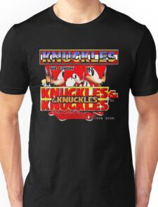 Knuckles the Echidna in Kuckles & Knuckles & Knuckles Unisex T-Shirt