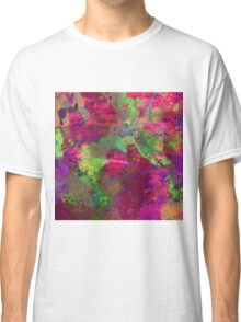 Fusion In Pink And Green Classic T-Shirt