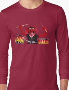 Animal Drummer Long Sleeve T-Shirt