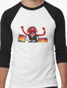 Animal Drummer Men's Baseball ¾ T-Shirt