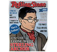 Sterling Archer is a Rolling Stone Poster