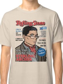 Sterling Archer is a Rolling Stone Classic T-Shirt