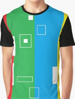 Simple Color Graphic T-Shirt