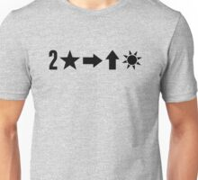 Second Star to the Right & Straight on til Morning Unisex T-Shirt