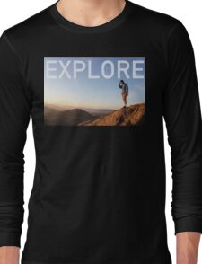 EXPLORE Long Sleeve T-Shirt