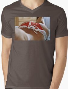 sexy nude erotic glamour girl model 4 Mens V-Neck T-Shirt