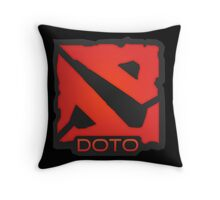 Dota 2 Orange. Throw Pillow