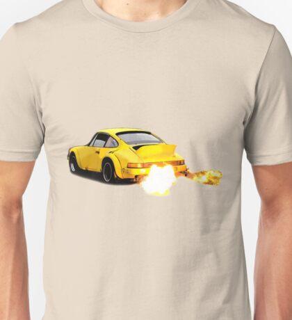 Porsche 911 930 Spitting Flames Unisex T-Shirt
