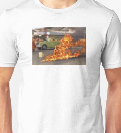 Thích Quảng Đức Blur Unisex T-Shirt