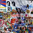 The John lennon Peace Wall Prague by oulgundog
