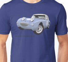 Austin Healey Sprite mark 1 iris blue Unisex T-Shirt