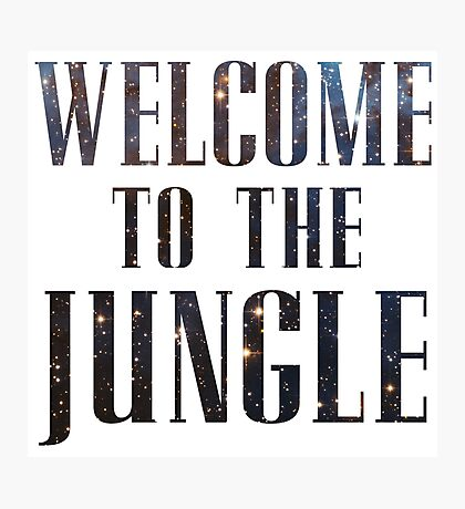 Welcome to the Jungle (galaxy) Photographic Print