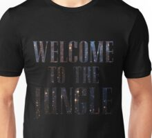 Welcome to the Jungle (galaxy) Unisex T-Shirt