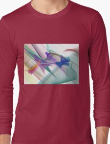Colorful Vector/Abstract Design Long Sleeve T-Shirt