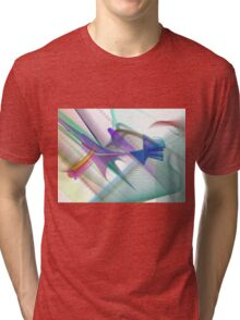 Colorful Vector/Abstract Design Tri-blend T-Shirt
