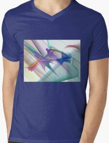 Colorful Vector/Abstract Design Mens V-Neck T-Shirt