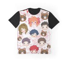 Gekkan Shoujo Nozaki-kun Graphic T-Shirt