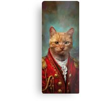 Court General Wise Cat  Metal Print