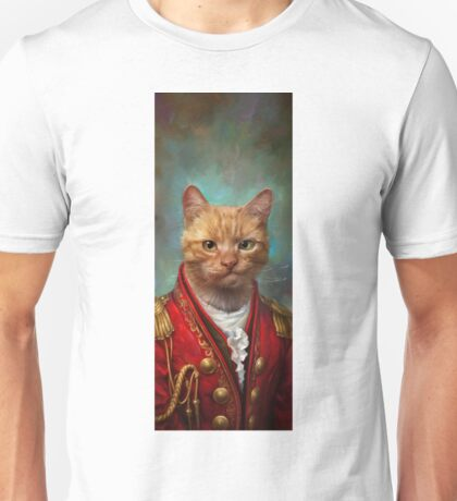 Court General Wise Cat  Unisex T-Shirt