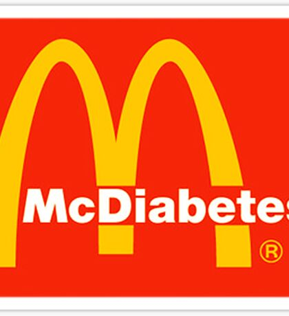 McDiabetes Sticker