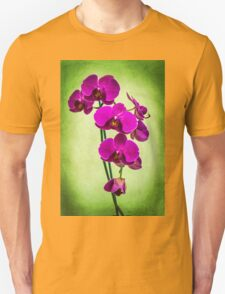 Orchid in Green Unisex T-Shirt