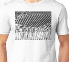 Palm Fronds in Black and White, #11 Unisex T-Shirt