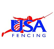 Team USA - Fencing Photographic Print