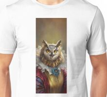 Lady Owl, The Court Сounsellor Unisex T-Shirt