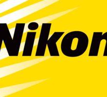 nikon logo 2016 Sticker