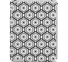 Monochrome Geometric Patterns iPad Case/Skin