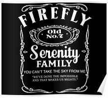Firefly Whiskey Poster