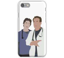 JD & Dr. Cox iPhone Case/Skin