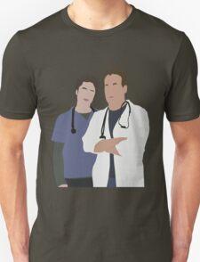 JD & Dr. Cox Unisex T-Shirt