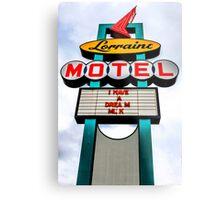 Lorraine Motel Metal Print