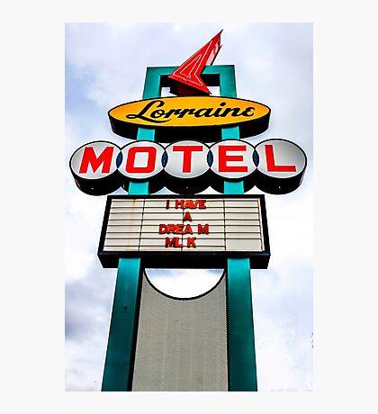 Lorraine Motel Photographic Print