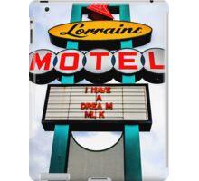 Lorraine Motel iPad Case/Skin