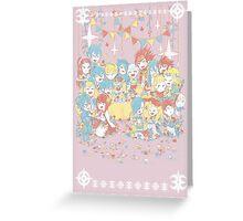 Fire Emblem Tea Party BOY VERSION Greeting Card