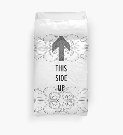 This Side Up Duvet Cover