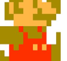 Funny Mario Sticker Sticker