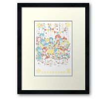 Fire Emblem Tea Party GIRL VERSION Framed Print