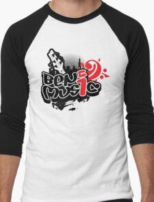 Ben i Music Logo Men's Baseball ¾ T-Shirt