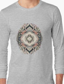 Radial Typography  Long Sleeve T-Shirt