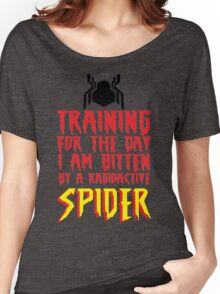 Training For The Day I Am Bitten By A Radioactive Spider MCU Tank Top Women's Relaxed Fit T-Shirt